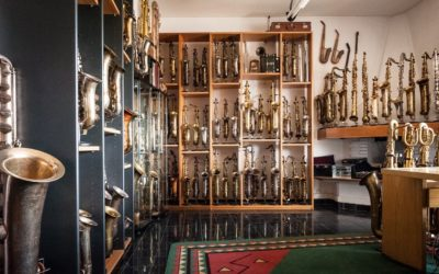 What a Saxophone Collection Looks Like